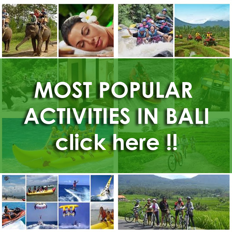 MOST POPULAR ACTIVITIES IN BALI INDONESIA