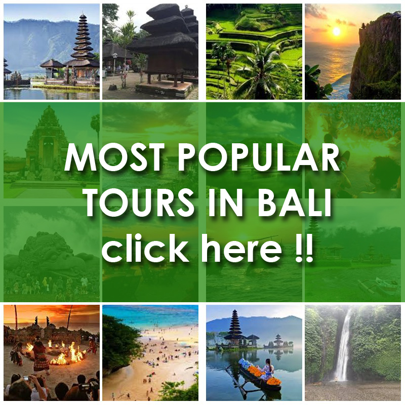 MOST POPULAR TOURS IN BALI INDONESIA
