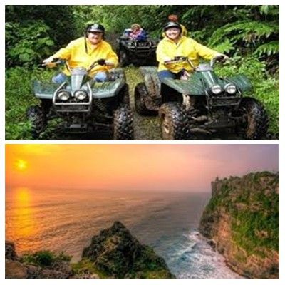 Bali ATV Ride and Uluwatu Tour