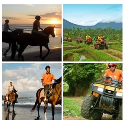 Bali Horse Riding and ATV Ride Tour