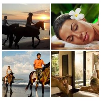 Bali Horse Riding and Spa Packages Tour
