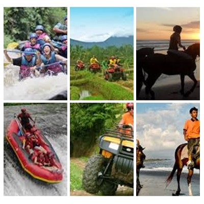 Bali Rafting, ATV Ride and Horse Riding Tour