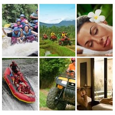 Bali Rafting, ATV Ride and Spa Tour