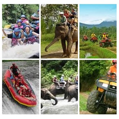 Bali Rafting, Elephant and ATV Ride Tour