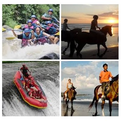 Bali Rafting and Horse Riding Tour