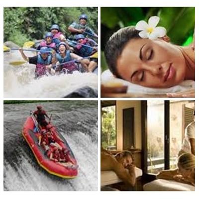 Bali Rafting and Spa Packages Tour