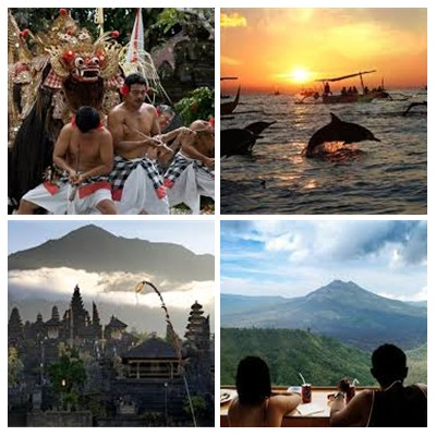 Bali Round Trip 4 Days and 3 Nights Tour