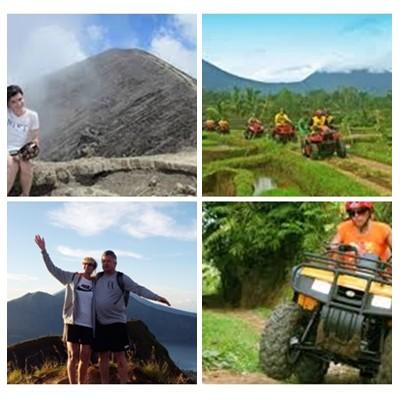 Bali Trekking and ATV Ride Tour