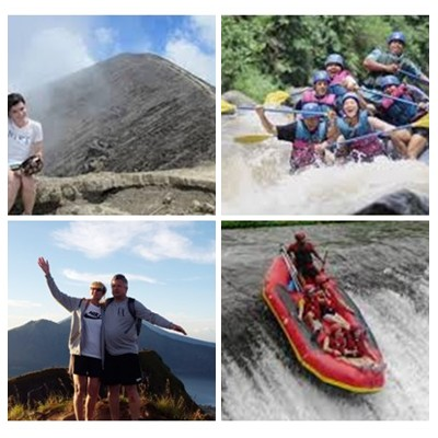 Bali Trekking and Rafting Tour