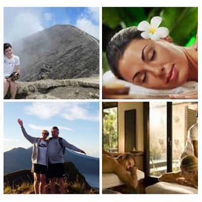 Bali Trekking and Spa Packages Tour