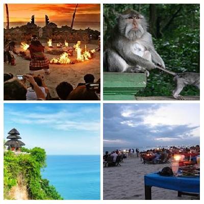 Bali Ubud Uluwatu Tour