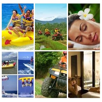 Bali Water Sports, ATV Ride and Spa Tour
