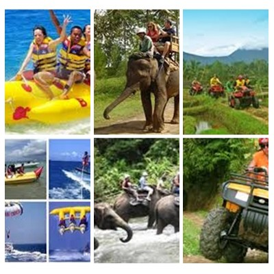 Bali Water Sports, Elephant and ATV Ride Tour