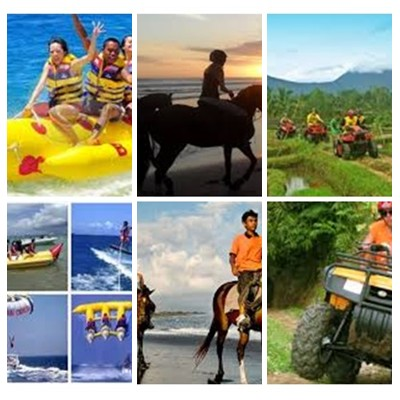 Bali Water Sports, Horse Riding and ATV Ride Tour