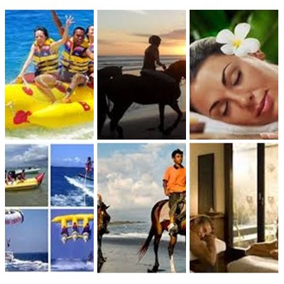 Bali Water Sports, Horse Riding and Spa Tour