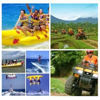 Bali Water Sports and ATV Ride Tour