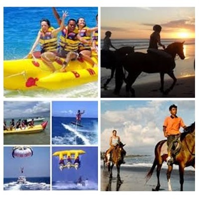 Bali Water Sports and Horse Riding Tour