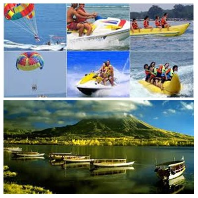 Bali Water Sports and Kintamani Tour