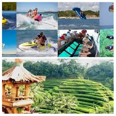 Bali Water Sports and Ubud Tour