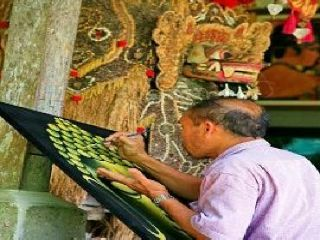 Batuan Village for Traditional Painting Art