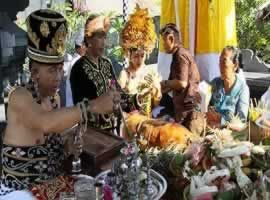 Balinese Wedding Ceremony